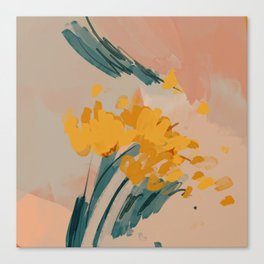 Bouquet Of Summer Sunshine Canvas Print