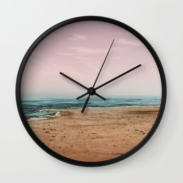 Ocean Fog Wall Clock