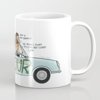 cyrilliart Mugs featuring No Control by Cyrilliart