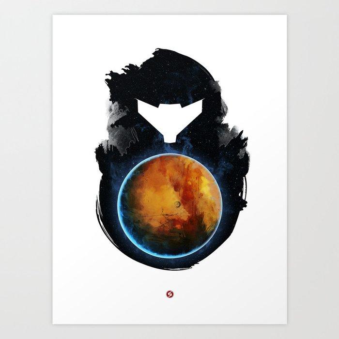 Metroid Prime Art Print