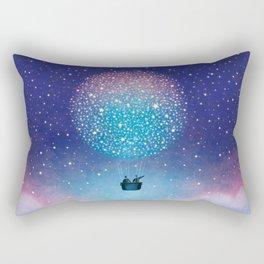 Stars Balloon Rectangular Pillow