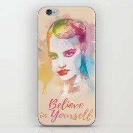 watercolors iPhone Skin