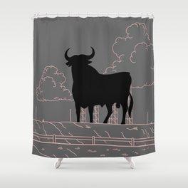 El Toro Shower Curtain