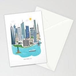 New York City Illustration Stationery Cards