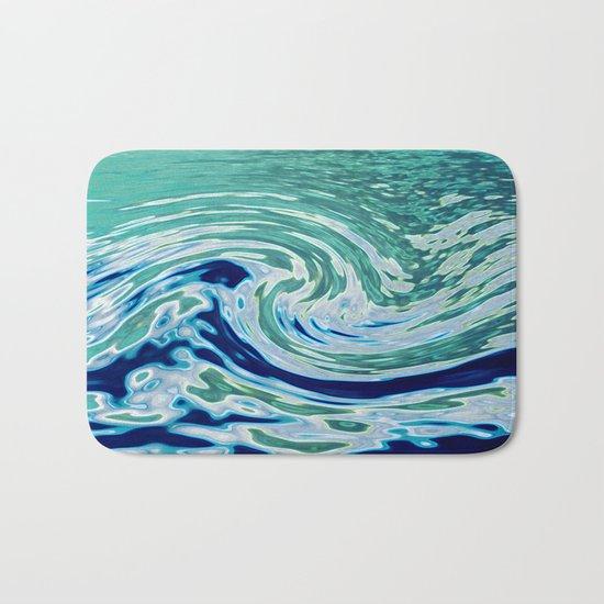 OCEAN ABSTRACT 2 Bath Mat