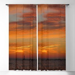 Sunset in Michigan Blackout Curtain