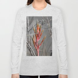 Color Pops: Red Bromeliad Long Sleeve T-shirt