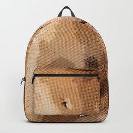 Two Nude Women Half Tone Backpack