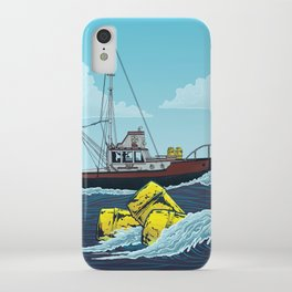 Jaws: Orca Illustration iPhone Case