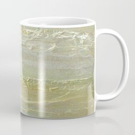Rose Gold Silver Textures Coffee Mug