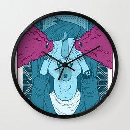 TRIPPIN' BALLS Wall Clock