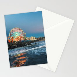 Wheel of Fortune - Santa Monica, California Stationery Cards