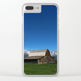 At The Mormon Row Clear iPhone Case