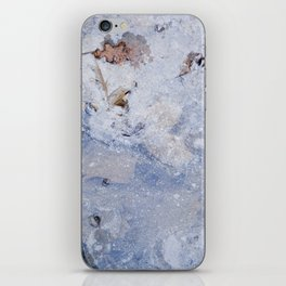 frozen lakes II iPhone Skin