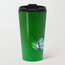 Water Drop Waves - Look Closer Travel Mug