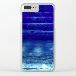 Underwater Pyramids Clear iPhone Case