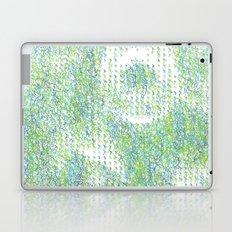 Peacock Feathers Doodle Laptop & iPad Skin