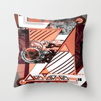 "dragonball z Throw Pillows featuring ""Z"" by Grant Pearce"