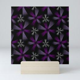 Fragmented Starbursts Mini Art Print