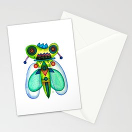 Dragonfly Moth Stationery Cards