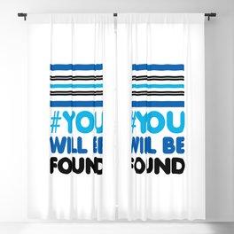 YOU WILL BE FOUND - EVAN HANSEN Blackout Curtain