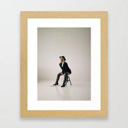 Cyber in studio Framed Art Print