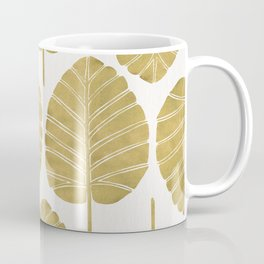 Elephant Ear Alocasia – Gold Palette Coffee Mug