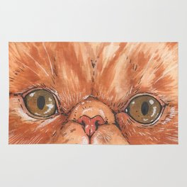 Betty aka The Snappy Cat- artist Ellie Hoult Rug