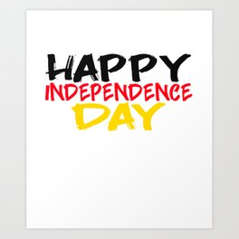 Happy Independence Day - Independence Day - 4 July Art Print