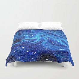 Galaxy Painting Acrylic Galaxy Art Duvet Cover