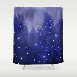 Star Kissed Wind Shower Curtain
