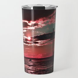 Pink Skies Travel Mug