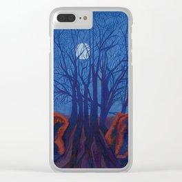 Adam & Eve - Avebury, Wiltshire, England Clear iPhone Case
