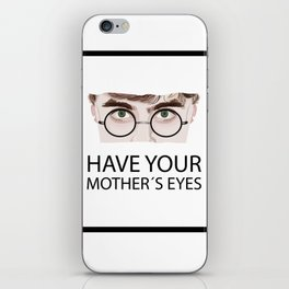 have your mother´s eyes iPhone Skin