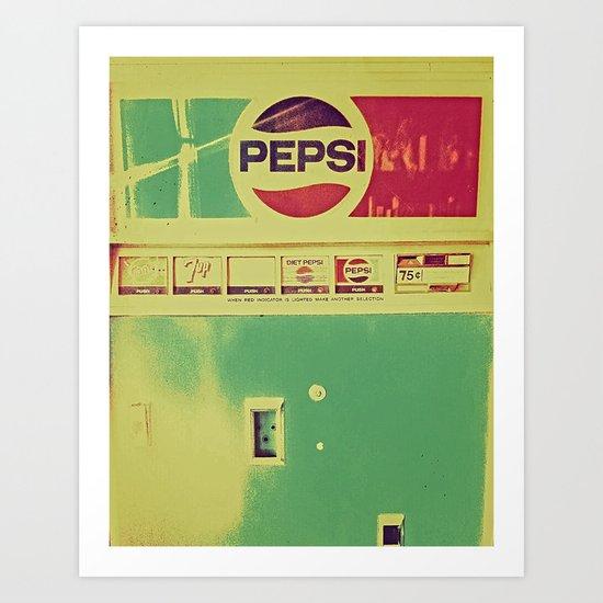 Say Pepsi! Art Print