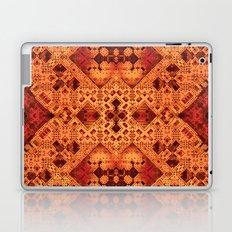 3-D Mosaic in Red and Orange Laptop & iPad Skin
