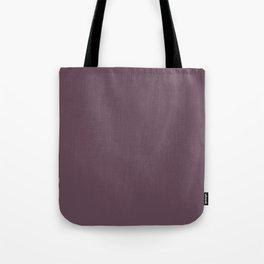 Plum Wine Purple   Solid Colour Tote Bag