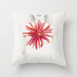 Deep within the long gone love Throw Pillow