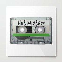 Hot Mixtape Metal Print