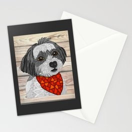 Max the Havanese Stationery Cards