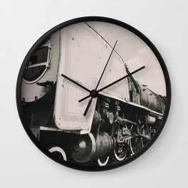 Old Locomotive steam train Wall Clock