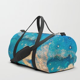 Touch of Gold_Sky Duffle Bag