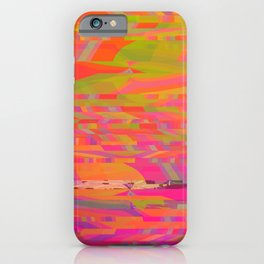 Rainbow Storms iPhone Case