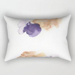 170714 Abstract Watercolour Play 12 |Modern Watercolor Art | Abstract Watercolors Rectangular Pillow
