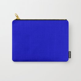 Medium Blue - solid color Carry-All Pouch