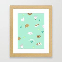 Pup Mom Framed Art Print