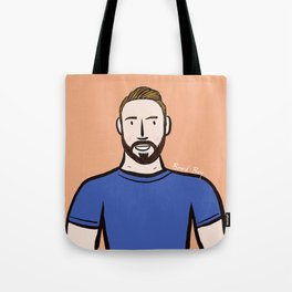 Beard Boy: Dillon Tote Bag