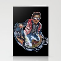 marty mcfly Stationery Cards featuring MARTY MCFLY by John McGlynn