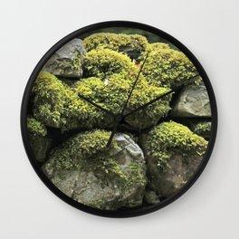 Mossy wall Wall Clock