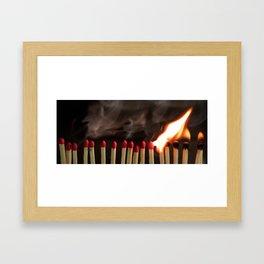 Hot Qualmm Framed Art Print